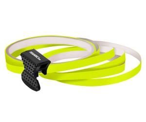 Fälgstriping - neon gul