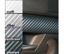 Designfilm Ultra Carbon, Vit struktur 50 x 50 cm